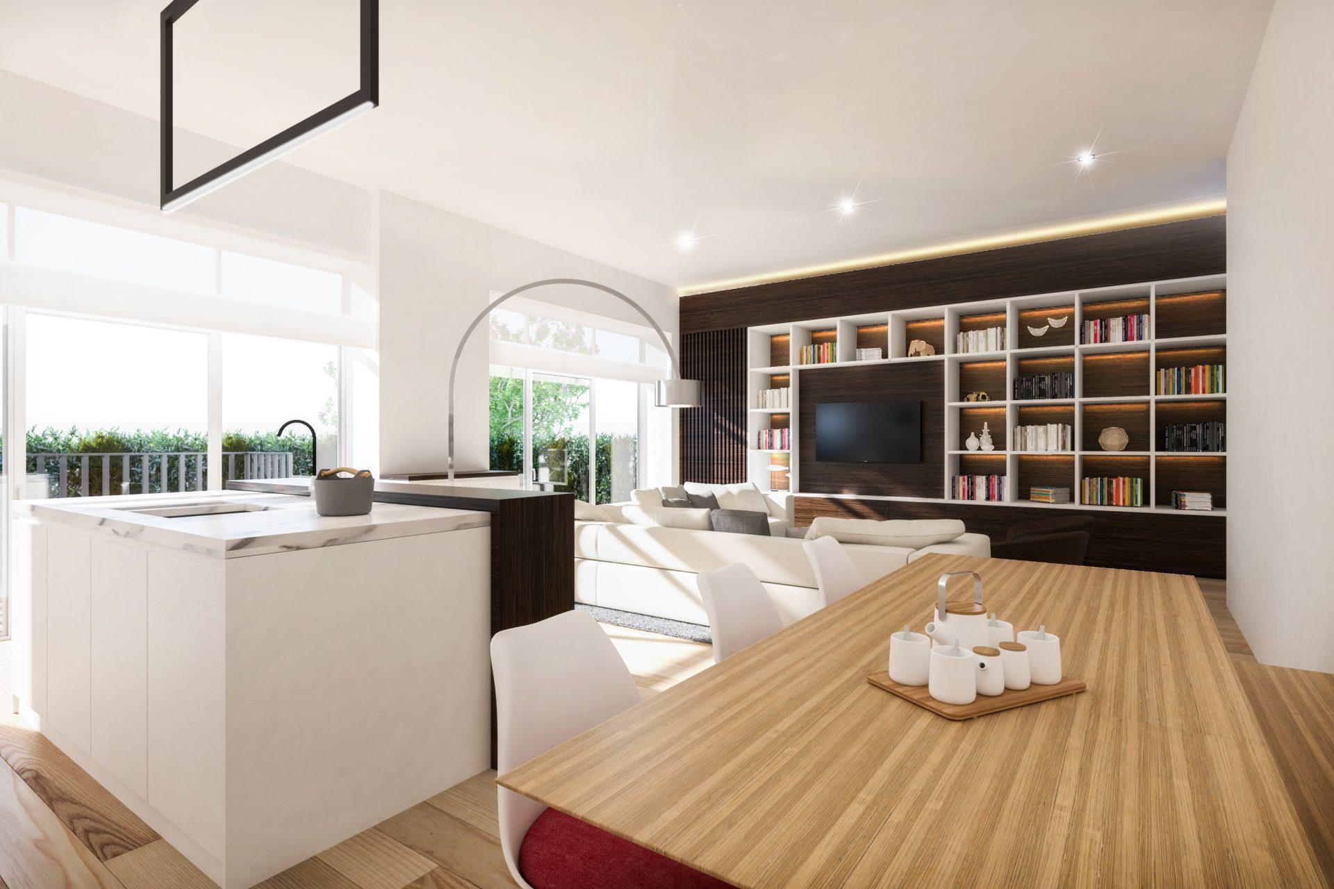 Apartment B.